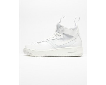 Schuhe Unisex 864025-100 Weiß Nike Air Force 1 Ultraforce Mid