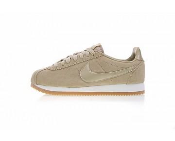 Sand Gelb Schuhe Damen Nike Classic Cortez Suede Aa3839-200