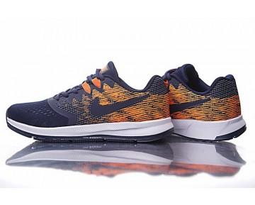 Tief Blau/Orange Nike Zoom Winflo 4 Herren Schuhe 898466-004