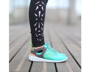 Damen 725060-003 Schuhe Grün Nike Free Viritous