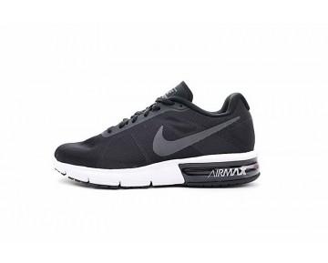 Schuhe Unisex Nike Air Max Sequent  719912-009 Schwarz Weiß