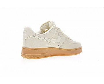 Schuhe Aa0287-600 Unisex Sand/Gum Gelb Nike Wmns Air Force 1 '07 Se