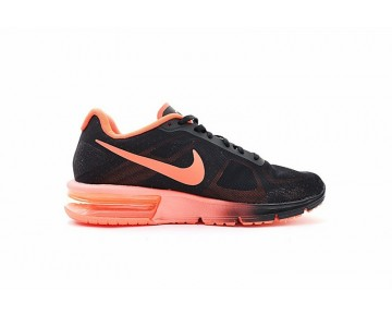 Schwarz/Orange Rot Schuhe Nike Air Max Sequent  Unisex 719912-012
