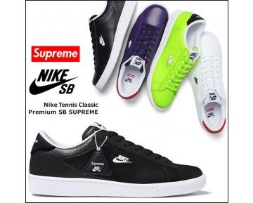 Schuhe 556045 710 556045-001 556045-146 556045-516 Supreme X Nike Sb Tennis Classic Unisex