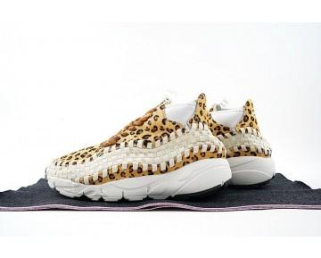 Unisex Schuhe Nike Air Footscape Woven Chukka Motion Leopard 446337-200