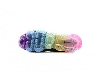 Nike Air Vapormax Flyknit Schuhe Schwarz/Rainbow Herren 849558-001