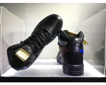 "Nike Air Force 1 High Herren Misplaced Checks"" Schwarz Schuhe"