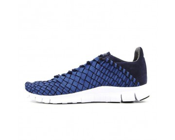 Herren 579916-402 Schuhe Nike Free Inneva Woven Tief Blau