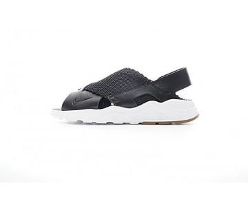 Schuhe Damen Nike Wmns Air Huarache Ultra Women Sandal Slip-On Schwarz/Weiß 885118-001
