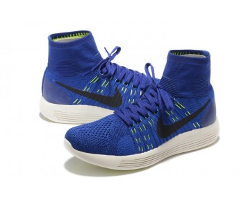 Deep-Königlich-Blau Nike Lunarepic Flyknit 818676-400 Schuhe Herren