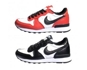 Unisex Schuhe Schwarz Weiß 631754-010 Nike Internationalist Chicago