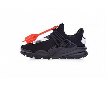 Unisex Schwarz/Weiß/Gelb Aa8696-200 Schuhe Virgil Ablohoff-White X Nike La Nike Sock Dart