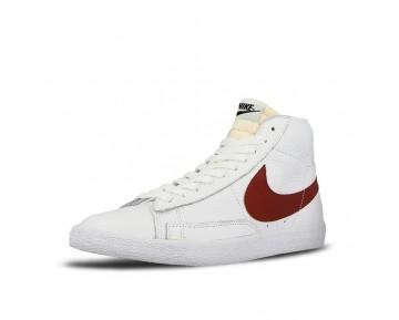 Schuhe  Aw Nike Blazer Mid Retro Og 845054-101 Unisex Weiß/Rot/Königlich