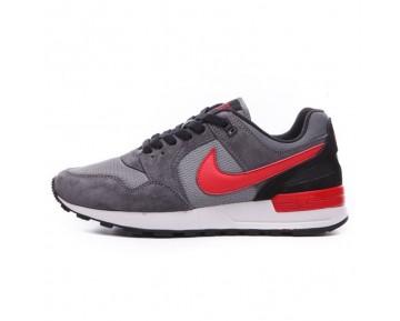 Nike Air Pegasus 89 Herren Grau Rot Wein Schuhe