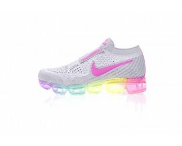 Kinder Cdg X Nike Air Vapormax Weiß/Grau/Rosa/Rainbow 899473-003 Schuhe