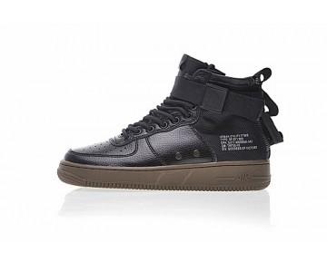 Schuhe Unisex Nike Sf Air Force 1 Utility Mid Schwarz/Braun