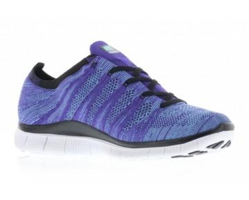 Schuhe Herren Crt Lila/Weiß-Polarized Blau-Schwarz 599459-500 Nike Free Flyknit 5.0 Nsw