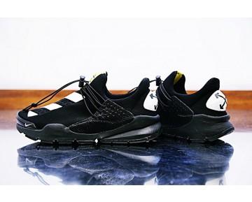 Nike Sock Dart X Off White Unisex Schwarz/Weiß/Gelb Schuhe 819686-050