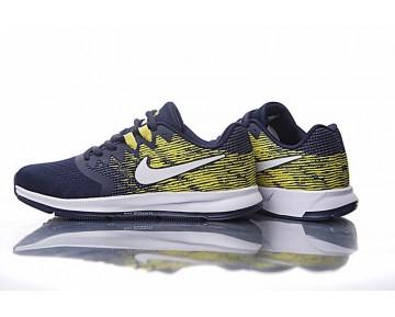 Nike Zoom Winflo 4 Schuhe Tief Blau/Gelb Herren 898466-006