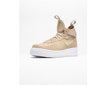 Nike Air Force 1 Ultraforce Mid Schuhe 864025-200 Unisex Vachetta Tan,Vachetta Tan,Weiß