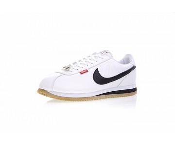 Schuhe Mister Cartoon X Nike Cortez Basic Qs Weiß/Yelow/Schwarz Unisex Aa4875-005