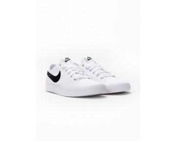 Nike Primo Court Canvas Weiß Schwarz 631635-102 Damen Schuhe