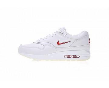 Schuhe Unisex Weiß/Rot 918354-104 Nike Sportswear Air Max 1 Premium Sc