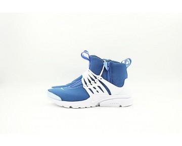 Nike Air Presto Mid Herren Schuhe Tief Blau,Weiß 78969-802
