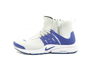 Nike Air Presto Mid Herren 78969-804 Schuhe Grau,Weiß,Blau