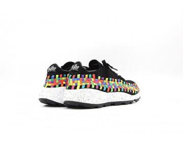Nike Air Footscape Unisex Schuhe 525250-001 Schwarz/Weiß/Multi