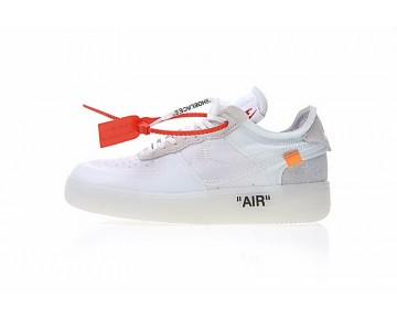A04606-100 Schuhe Grau Weiß Off White X Nike Air Force 1 Low Herren
