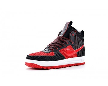 Schwarz/Rot/Weiß Schuhe Herren 805899-050 Nike Lunar Force 1 Duckboot