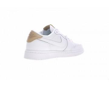 905136-100 Schuhe Air Jordan 1 Low Og Premium Weiß/Braun Unisex