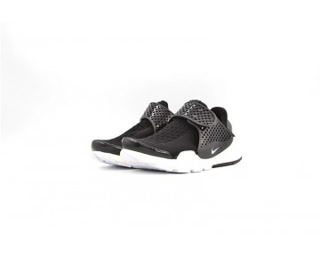 Schuhe Unisex Schwarz Weiß Hook  Nike Sock Dart Id 819686-010