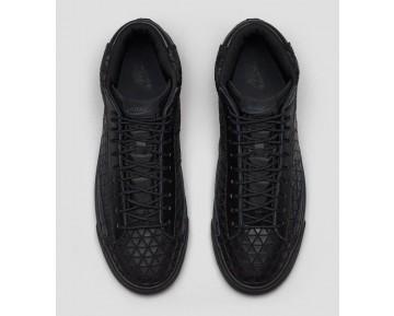 Triple Schwarz Japan Nike Blazer Mid Metric Qs 744419-001 Herren Schuhe
