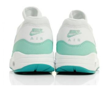 Schuhe Damen Weiß/Grün Nike Wmns Air Max 1 Essential 599820-113