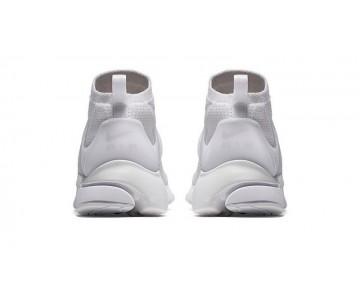 Schuhe Weiß/Weiß/Weiß/Total Crimson Nike Air Presto Flyknit Ultra 835570-100 Unisex