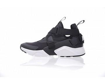 Unisex Nike Air Huarache V Mid 833146-619 Schwarz Weiß Schuhe