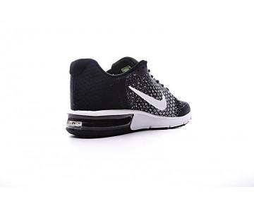 Schwarz Weiß Schuhe 852461-005 Nike Air Max Sequent  Unisex