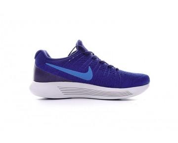 Königlich Blau/Weiß Herren Schuhe  Nike Lunarepic Low Flyknit 2 863779-400
