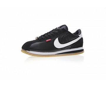 Unisex Mister Cartoon X Nike Cortez Basic Qs Schwarz/Weiß Schuhe Aa4875-002