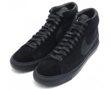 Black Comme Des Garcons X Nike Blazer High Sp Unisex 704571-001 Schwarz/Schwarz Schuhe