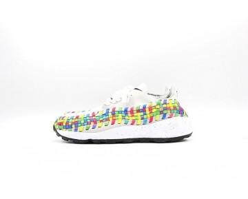 525250-111 Schuhe Nike Air Footscape Unisex Weiß/Grau/Multi