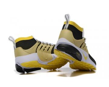 Nike Air Presto Flyknit Ultra 835570-007 Herren Schuhe Schwarz/Gelb Stark/Metallic Gold