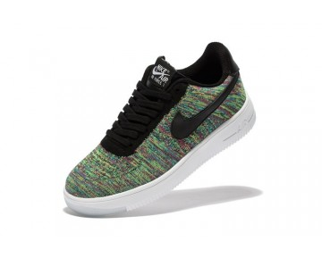 Nike Air Force 1 Ultra Flyknit Low Unisex Schuhe Radian Emerald 817420-405