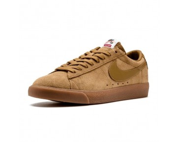 Unisex 716890-229 Schuhe Nike Sb Blazer Low Gt X Supreme Ftw 16 Beige/Tan