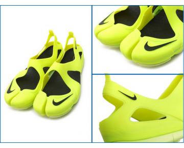 Schuhe Electric Grün Schwarz Unisex Nikelab Free Rift Sandal Sp 725001-707