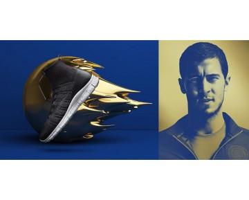 Schwarz/Team Orange 805554-008 Nike Free Mercurial Flyknit F.C. Schuhe Unisex