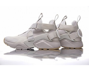 833146-600 Nike Air Huarache V Mid Schuhe Damen Sand Braun