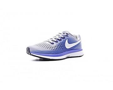 880555-007 Schuhe Licht Grau/Königlich Blau Nike Air Zoom Pegasus Herren